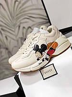 Модные женские кроссы Gucci (реплика), фото 1