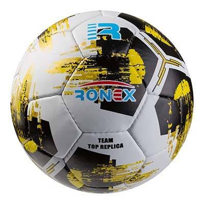 Мяч футбольный Grippy Ronex AD-21, желтый, фото 2