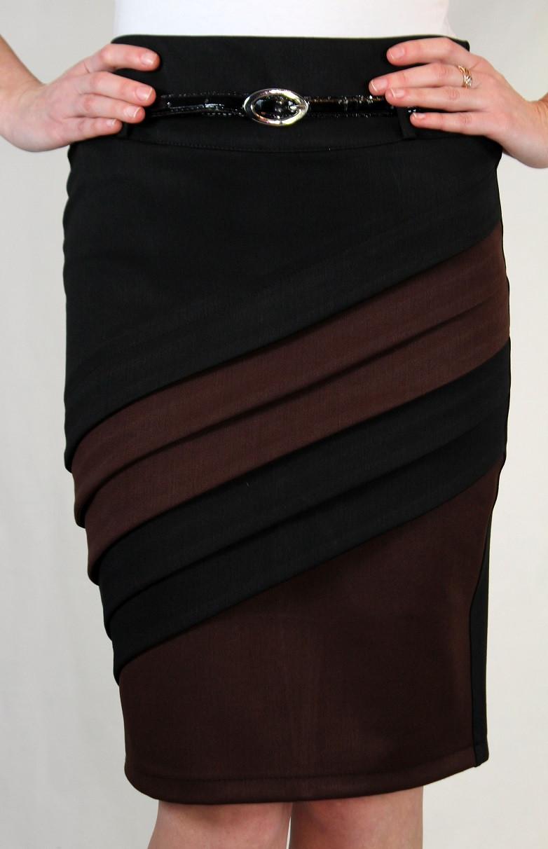 Элегантная теплая юбка карандаш 42-48 р