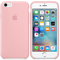 Silicone case Iphone 6/6s розовый Pink Мягкий чехол