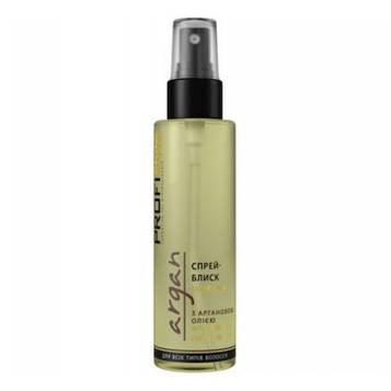 Спрей-блеск ProfiStyle argan с маслом аргании для всех типов волос 100мл