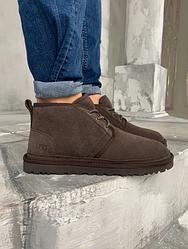 "Мужские ботинки Угги Ugg ""Brown""' (Люкс копия)"