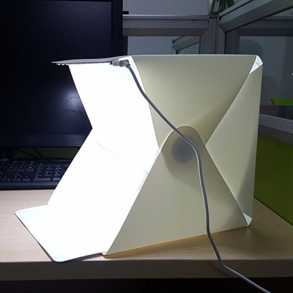 Фотобокс с LED подсветкой для предметной съемки 40см с USB подключением
