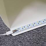 Фотобокс с LED подсветкой для предметной съемки 40см с USB подключением, фото 4