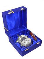 Турка латунная в синей коробке 400 мл.( тл-14) Индия