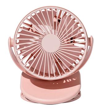 Портативный вентилятор Xiaomi SOLOVE Clip Fun F3 Pink
