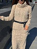 Платье-гольф женское, стильное, теплое, НОВИНКА,505-033