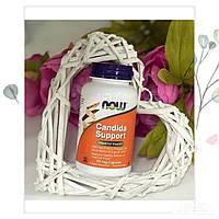 Кандида Суппорт Candida Support 90 шт Now Foods Укрепление флоры кишечника, официальный сайт