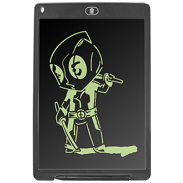 Планшет для рисования UTM LCD Writing Tablet Black