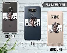 Силиконовый чехол для Huawei P30 Billie Eilish (Билли Айлиш) (13008-3394), фото 3