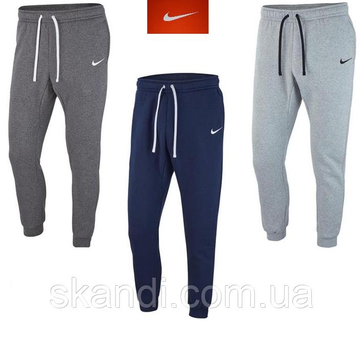 Флисовые мужские  брюки Nike Team  (Оригинал) S\M\L\XL\2XL