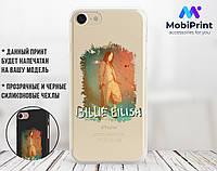 Силиконовый чехол для Apple Iphone 7 Billie Eilish (Билли Айлиш) (4007-3395)