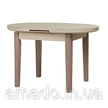 Стол обеденный TM-75 (120-145)*80*75(Н) Vetro матовый капучино-латте