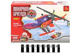 """Конструктор """"AUSINI"""" """"Пожежний вертоліт"""" 208дет. 25,5*18,5*4,5см /24/"""
