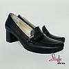 Женские туфли на каблуке кирпичиком
