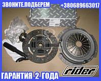 Сцепление ВАЗ 2110, 2112 (диск нажим.+вед.+подш.) (RIDER) (арт. 2112-1601000)