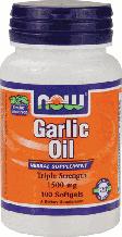Олія Часнику, Now Foods, Garlic Oil, 1500 mg, 100 Softgels