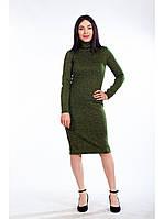Платье-гольф из ангоры до 54 размера