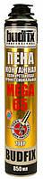 Профессиональная монтажная пена BUDFIX 708P MEGA, 65л, 850 мл