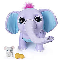 Интерактивный Слоненок Слон Spin Master Джуно Wildluvs Baby Elephant Juno оригинал 6047249