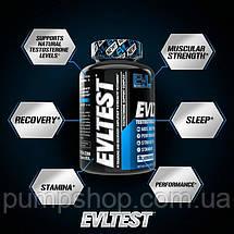 Для підвищення тестостерону Evlution Nutrition EvlTest 120 таб., фото 3