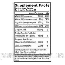 Для підвищення тестостерону Evlution Nutrition EvlTest 120 таб., фото 2