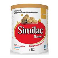 Детская сухая молочная смесь Similac Изомил, 400г