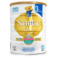 Детская сухая молочная смесь Similac Gold 3, 800г