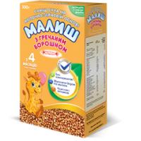 Детская сухая смесь Малыш на молочно-зерновой основе с гречневой мукой, 350г