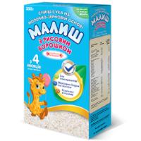 Детская сухая смесь Малыш на молочно-зерновой основе с рисовой мукой, 350г