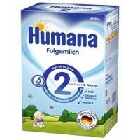Детская сухая молочная смесь Хумана 2, 600г