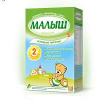 Детская сухая молочная смесь «Малыш Истринский» 2, 350г