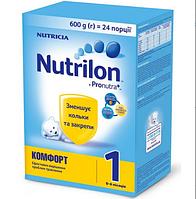 Детская сухая молочная смесь Nutrilon Комфорт  1, 600 г