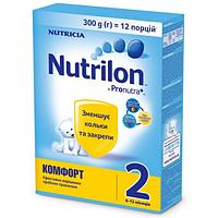 Детская сухая молочная смесь Nutrilon Комфорт 2, 300г