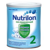 Детская сухая молочная смесь Nutrilon Кисломолочный 2, 400г