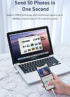 Кабель быстрой зарядки Baseus Micro USB 3A White, длина - 100 см. (CAMSW-B02), фото 4
