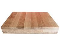 Доска кухонная Mazhura  прямоугольная с ручками 40х30 см h6 см (323064mz)