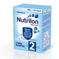 Детская сухая молочная смесь Nutrilon 2, 600г