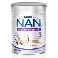 Детская сухая молочная смесь NAN Гипоаллергенный 3 OPTIPRO, 400г