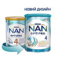 Детская сухая молочная смесь NAN 4 OPTIPRO, 400г