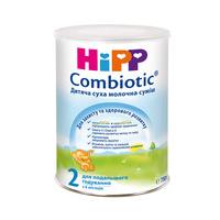 HiPP Детская сухая молочная смесь  «Combiotic» 2 , 750г