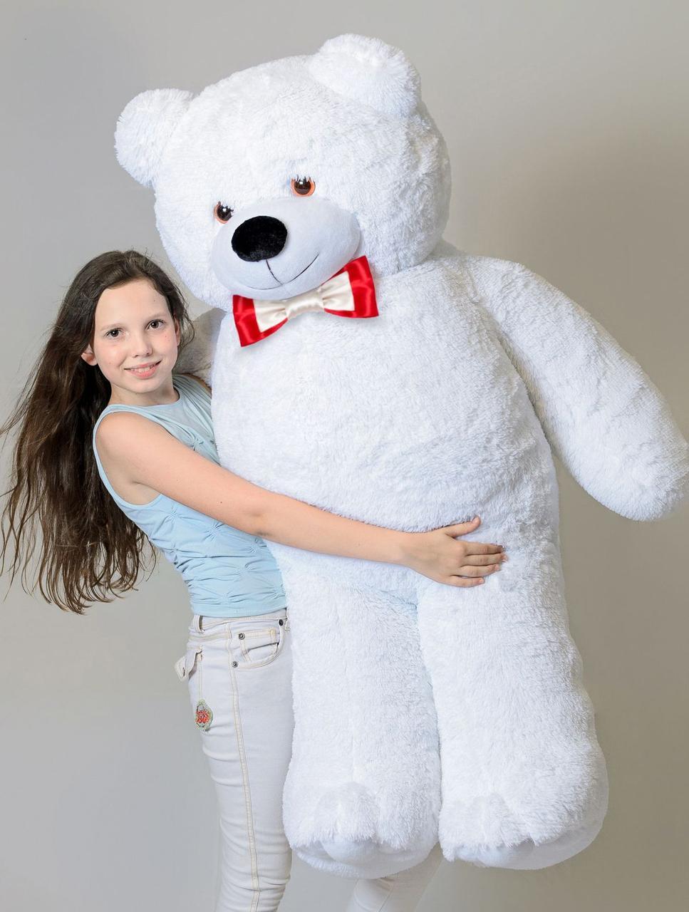 Плюшевый мишка Mister Medved Белый 160 см
