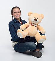 Плюшевый мишка Mister Medved сидячий Бежевый 70 см, фото 3