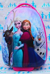 Чемоданы детские овальные пластиковые качество Люкс Josepf Ottenn Frozen Холодное сердце 16-JDX-57