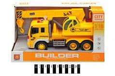 """Машина музыкальная """"Builder: Автокран"""" WY310E"""