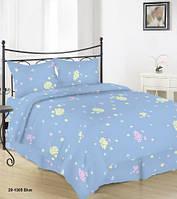 Комплект постельного белья Сатин БРАУНИ Набор постельного белья полутороспальный, евро, двуспальный