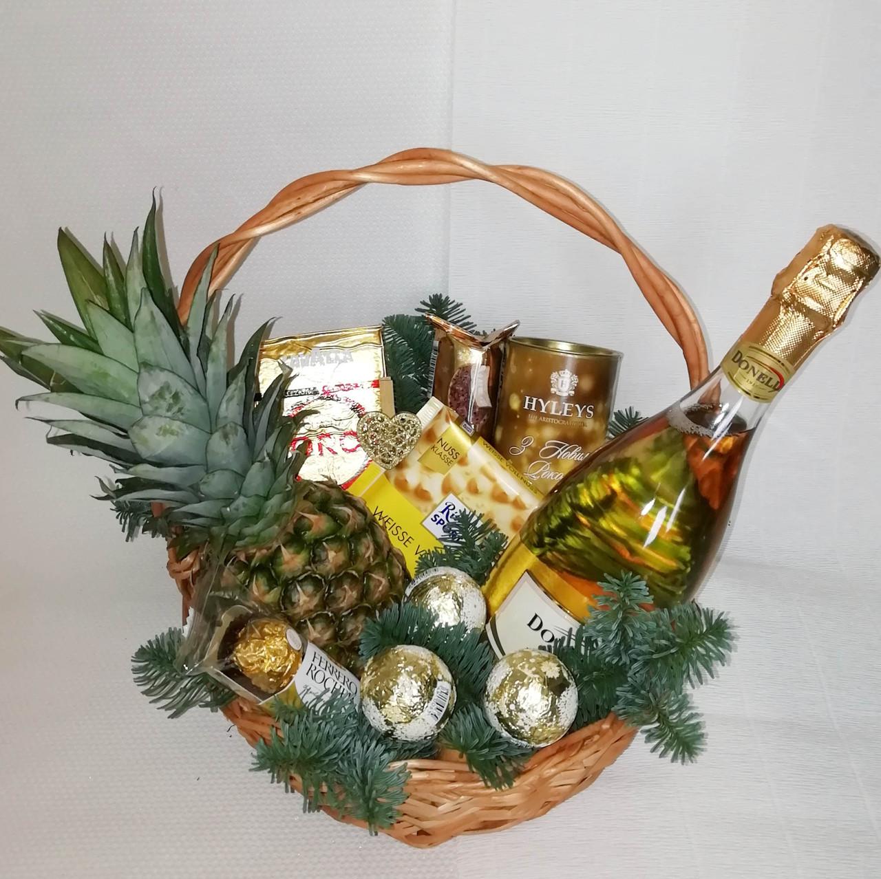 Подарочная корзина  «Золотая мечта»