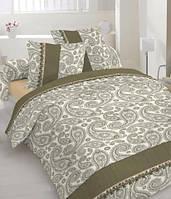 Комплект постельного белья Сатин ГРАЦИЯ Набор постельного белья полутороспальный, евро, двуспальный