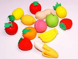 """Стират. резинка """"Овощи,фрукты объем."""" 120шт. в уп. /4/30/720/"""