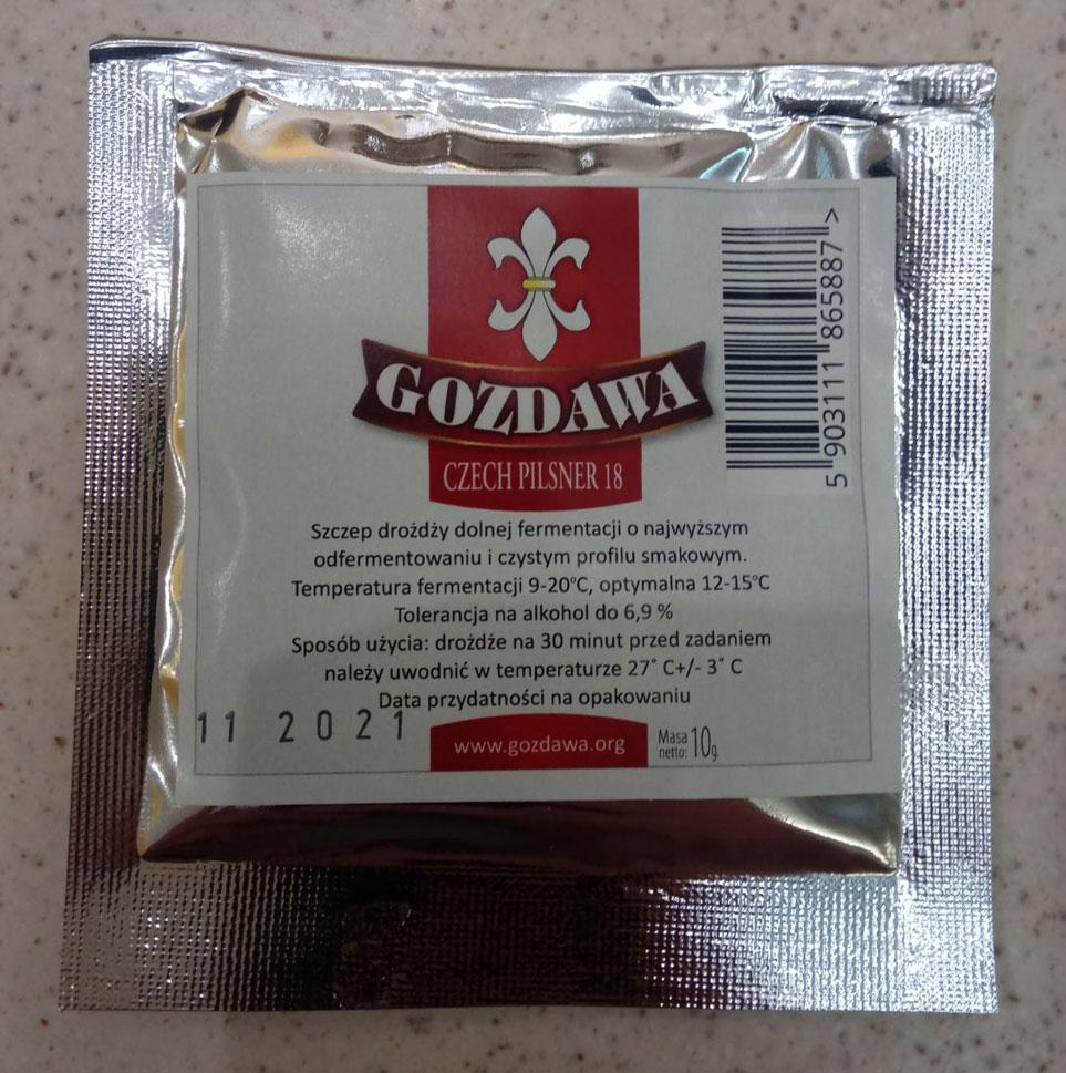 Пивные дрожжи Gozdawa CP18 Czech Pilsner